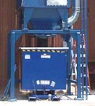 Woodworking: 4-yard bin with lid