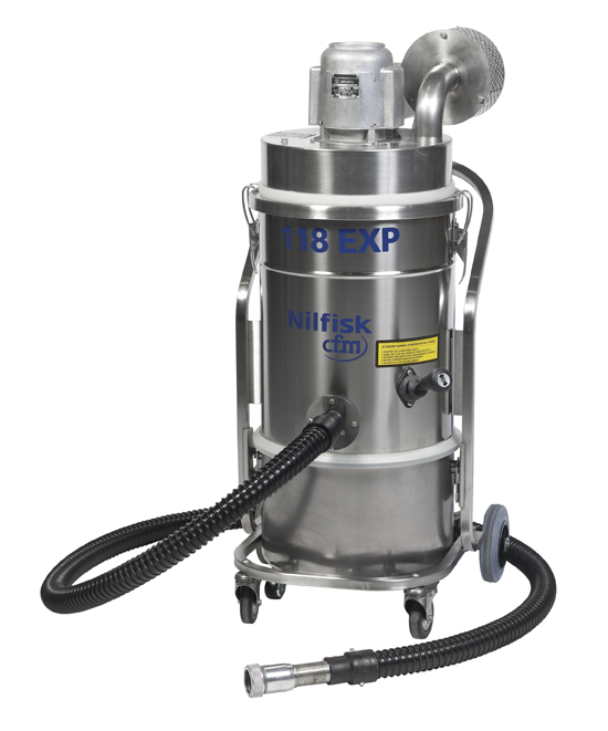 Explosion Proof Vacuum Cleaners | Nilfisk | AST Canada