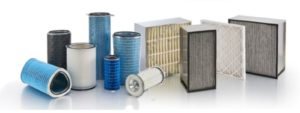 Dust collector media filters