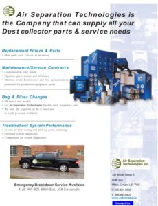 Dust Collector Service Brochure - AST Canada